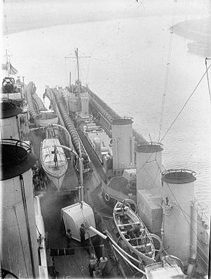 HMS Abdiel & Aurora mines WWI IWM SP 001196