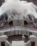 HMS Edinburgh in Rough Weather in the South Atlantic MOD 45155256.jpg