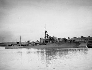 HMS Hardy (R08) - Image: HMS Hardy 1943 IWM FL 9572