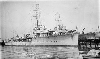 HMS <i>Valkyrie</i> (1917) Royal Navy ship