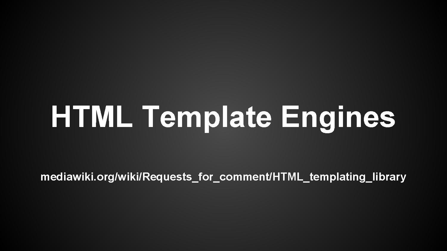 File:HTML Template Engines for MediaWiki.pdf - Wikimedia Commons
