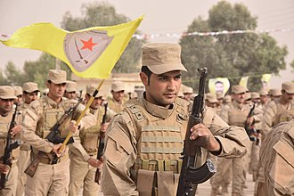 Self-Defense Forces (Rojava cantons) - Image: HXP in 2016 (2)