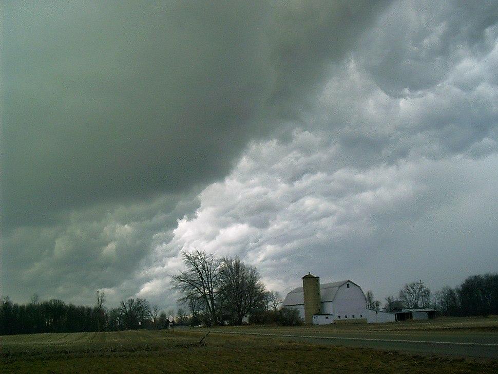 Hail clouds