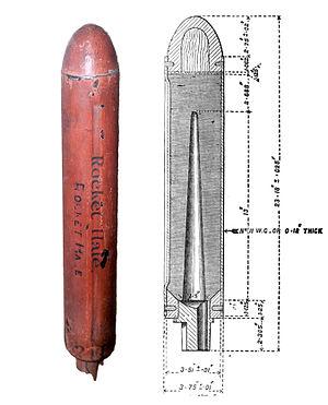 William Hale (British inventor) - Hale rotary rocket
