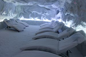 Halotherapy - Image: Halotherapy Spain