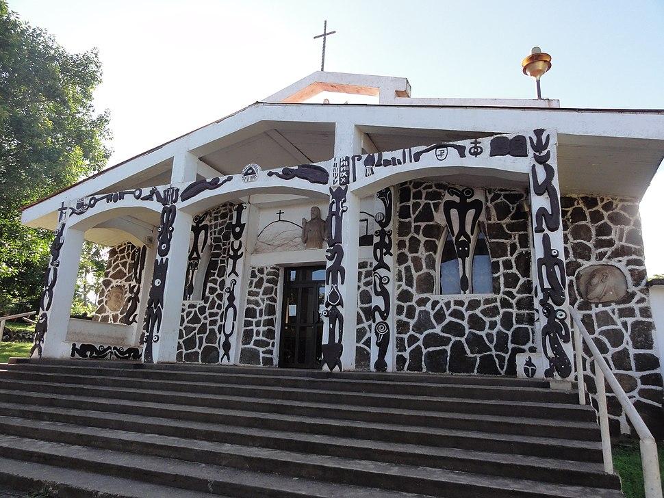 Hanga Roa Catholic Church exterior 1