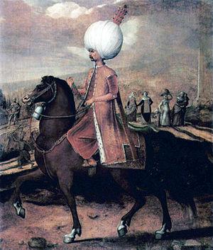 Hans Eworth - Image: Hans Eworth Osmanischer Wurdentrager zu Pferd