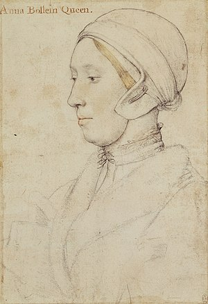 Anne Boleyn - Anne Boleyn by Hans Holbein the Younger