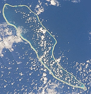 Hao (French Polynesia) - NASA picture of Hao Atoll