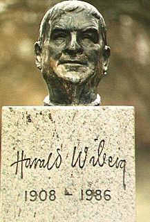 Harald Wiberg Swedish artist