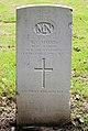 Harris (Raymond Chester) CWGC gravestone, Flaybrick Memorial Gardens.jpg