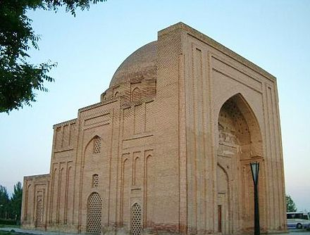 Haruniyah (hrwnyh ) structure in Tus, Iran, named after Harun al-Rashid, the mausoleum of Al-Ghazali is thought to be situated at the entrance of this monument Haruniyeh.JPG