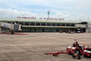 Hat Yai - Hat Yai International Airport, 5th busiest airport of Thailand