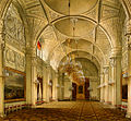 Hau. Interiors of the Winter Palace. The Alexander Hall. 1861.jpg