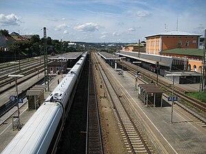 Passau Hauptbahnhof - Track layout