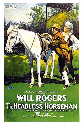 The Headless Horseman (1922 film) - Film poster