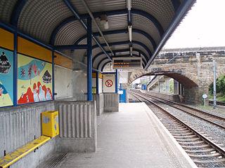Hebburn Metro station Station of the Tyne and Wear Metro