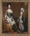 Hedvig Eleonora, 1636-1715, drottning av Sverige och Karl Fredrik, 1700-1739, hertig av Holstein - Nationalmuseum - 14996.tif