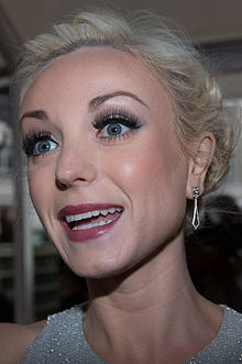 Helen George at the Glamour Women of the Year Awards 2015.jpg
