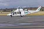 Helicorp (VH-TJF) Agustawestland AW139 taxiing at Wagga Wagga Airport (3).jpg