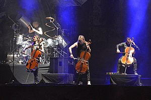 Apocalyptica at Hellfest 2017