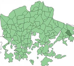 Nordsjön kartano - Image: Helsinki districts Nordsjo Gard