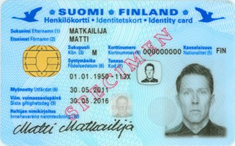 Smart card - Finnish national identity card