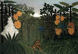 Henri Rousseau: The Repast of the Lion