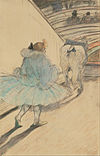 Henri de Toulouse-Lautrec (French - At the Circus- Entering the Ring - Google Art Project.jpg