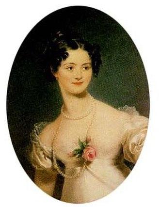 Princess Henrietta of Nassau-Weilburg - Image: Henriette Alexandrine Nassau Weilburg 1797 1829