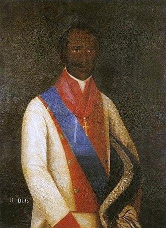 Henrique Dias - Portrait of Henrique Dias at the Museu do Estado de Pernambuco (Museum of the State of Pernambuco)
