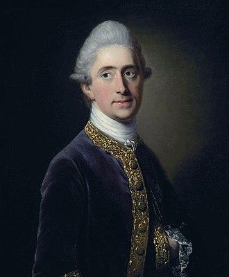 Henry Erskine, 10th Earl of Buchan - Henry David Erskine, 10th Earl of Buchan (circle of Francis Cotes)