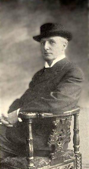 Henry F. Urban - Portrait photograph of Urban, 1909