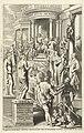 Hercules leidt man langs personificaties van deugden naar tempel voor eeuwige roem Titelpagina voor Idea principis christiano-politica, Centum Symbolis expressa, Brussel 1649 (titel op object), RP-P-1878-A-831.jpg