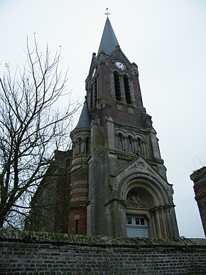 Herly (Somme) France, église (2).jpg