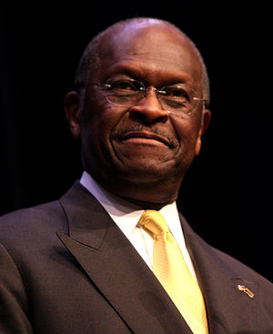 Herman Cain - Cain speaking at a fundraiser at Phoenix, Arizona in 2011
