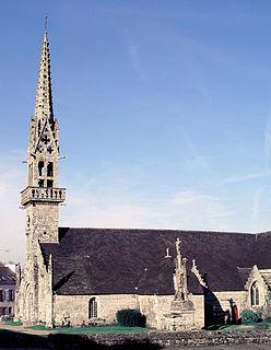 Saint-Hernin Commune in Brittany, France