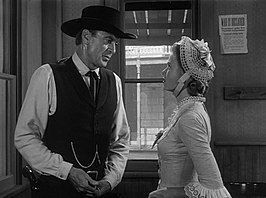 Grace Kelly en Gary Cooper in High Noon