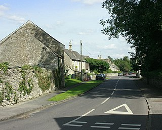 Tormarton farm village in the United Kingdom