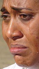 Hilda Dokubo crying 1