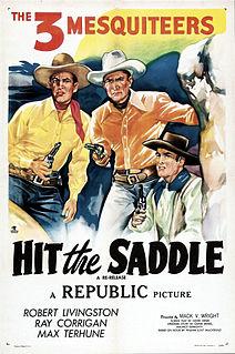 <i>Hit the Saddle</i> 1937 film by Mack V. Wright, George Blair