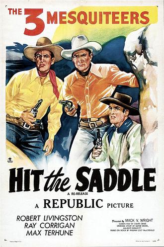 Hit the Saddle - Image: Hit the Saddle Film Poster