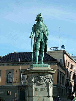 Holberg Denkmal Bergen