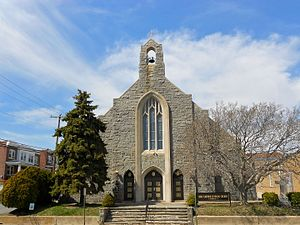 Lower Chichester Township, Delaware County, Pennsylvania - Holy Saviour Catholic Church