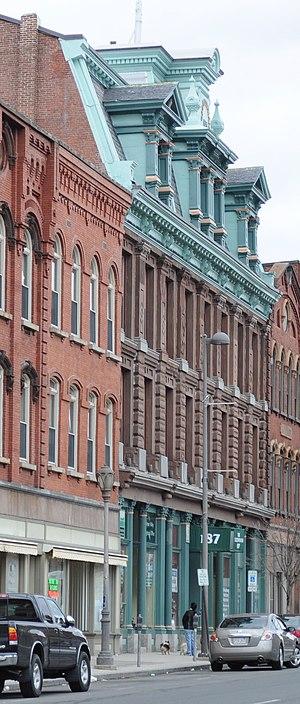Caledonia Building - Image: Holyoke, MA Caledonia Building 01