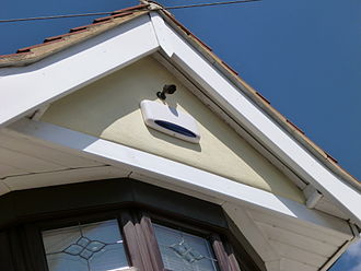 Security alarm - Exterior alarm bell box
