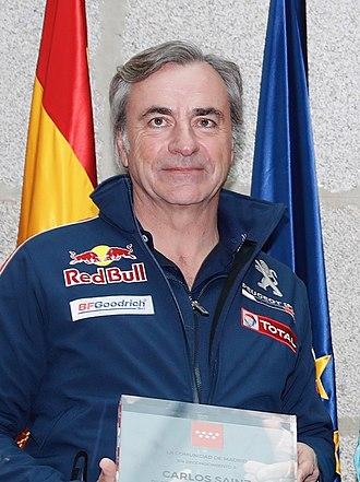 Carlos Sainz - Sainz in 2018.