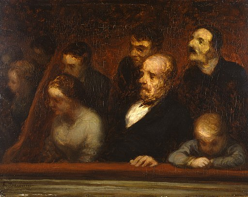 Honoré Daumier - The Loge (In the Theatre Boxes) - Walters 371988