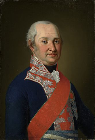 Electoral Palatinate - Maximilian Joseph, last Elector, first King of Bavaria ca 1810