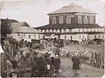 Horochow, marketplace near the synagogue.jpg